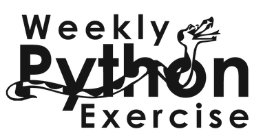 Weekly Python Exercise